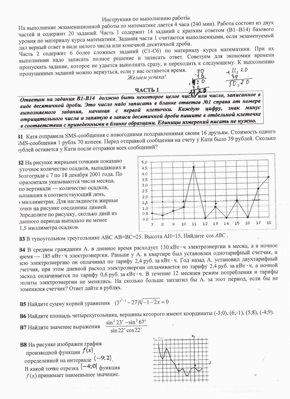 пробный гиа по русскому языку 2014 9 класс